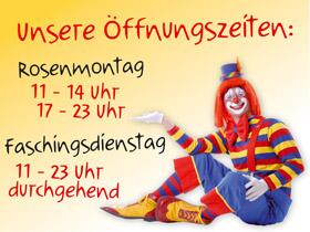 Fasching in Landshut Essen Feiern